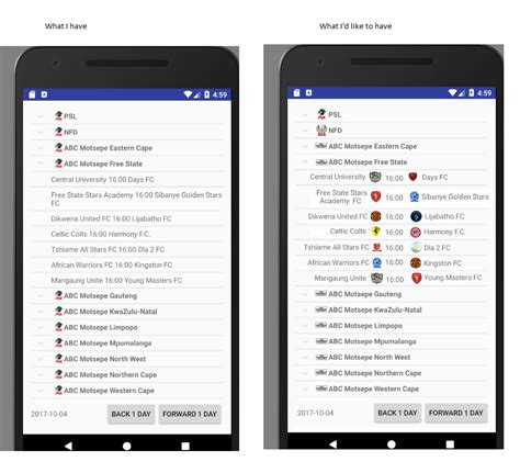 expandablelistview layout height android change image in expandable listview stack overflow