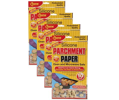 Parchment Paper 183 How To by 40 X Silicone Parchment Paper Greaseproof Baking Sheets