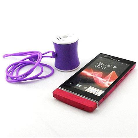 Speaker Bluetooth Sony Xperia universal wearable bluetooth speakers portable phone speaker for sony xperia p lt22i in