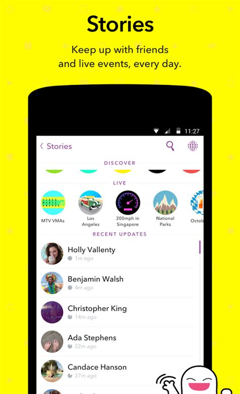 upload to snapchat android snapchat install android apps cafe bazaar
