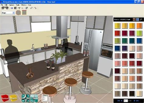 kitchen design software allows you to create interactive