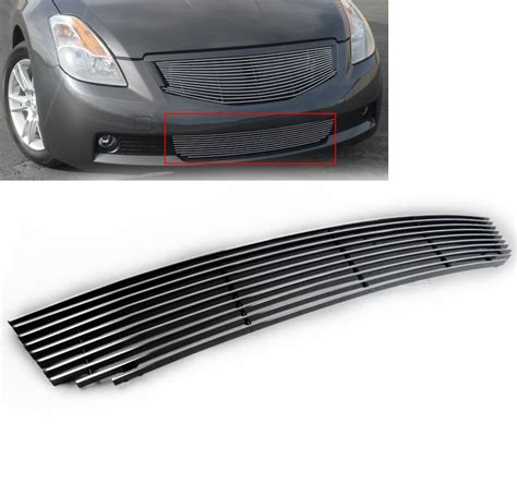 2008 nissan altima front grill polished front lower bumper billet grille grill for 2008