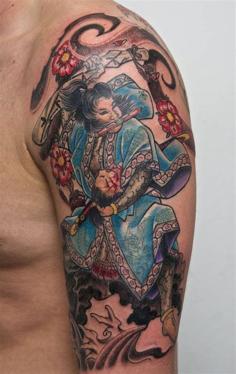 cool traditional tattoos 32 traditional samurai tattoos ideas