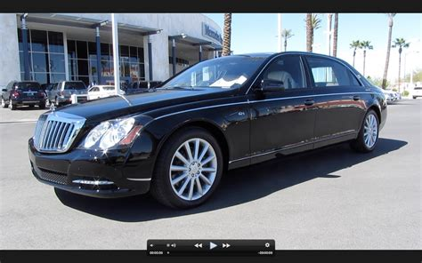 2011 maybach 62 s start up exhaust and in depth tour youtube