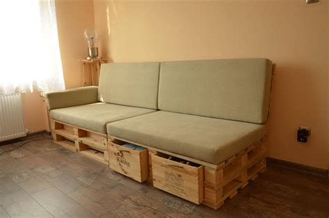 sofa with drawers underneath pallet sofa with drawers