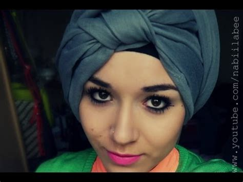 Knotted By Hijabkita Turban Tutorial L Front Knot Wrap Easy