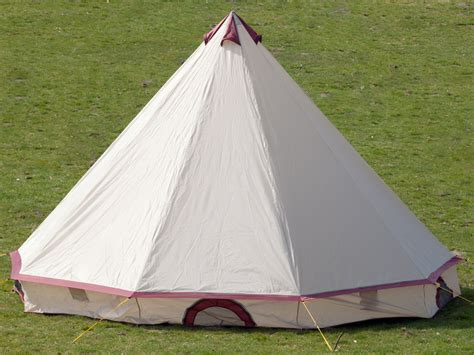 Backyard Teepee Tent by Skandika Comanche Tipi Teepee 8 Person Cing Tent