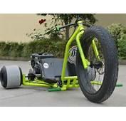 Gas Powered Drift Trike Tricycle Bike Fat Ryder Motorized Big Wheel