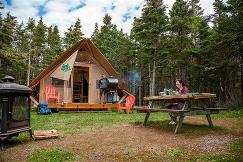 Cabins For Rent In Gros Morne National Park by Cing In An Otentik Picture Of Gros Morne National