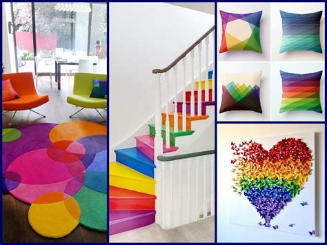decor ideas rainbow home decorating ideas