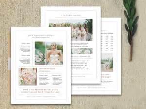 Wedding Photographer Price List Template Modern Photography Price List Template Deals Infoparrot