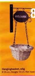 hanging basket haak karwei vergelijk aanbiedingen met de tekst basket