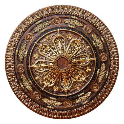 fine art deco 37 1 2 in arabic ii bronze gold