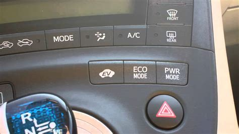 Toyota Prius Power Mode How To Use The Eco Mode And Power Mode On Your Prius