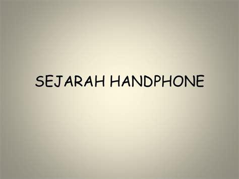 Hp Motorola Indonesia sejarah handphone