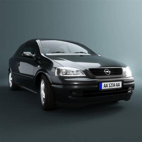 Opel Car Models by Opel Astra G Car 3d Model