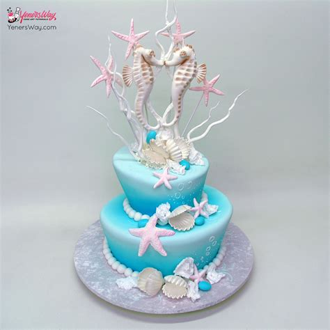 Wedding Theme Idea Scuba Wedding by Theme Wedding Cake With A Surfing Topper
