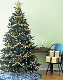Blue And Gold Christmas Tree Decorations » Ideas Home Design