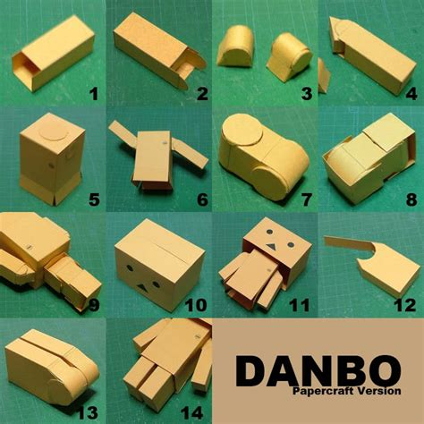 Papercraft Danbo - danbo worldfromyfingers