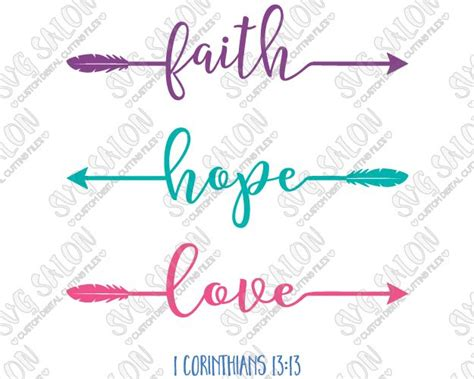 png faith love hope cross clipart