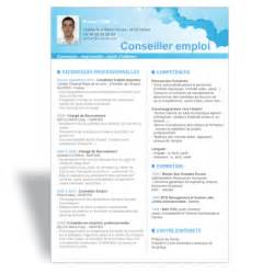 t 233 l 233 charger mod 232 le cv word conseiller emploi recrutement