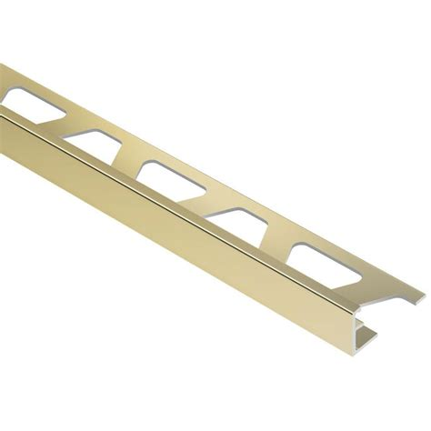 schluter rondec satin nickel anodized aluminum 3 8 in x 8
