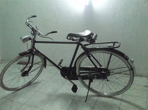 Emblem Tulisan Ori koleksi sepeda onthel kuno c antik november 2013