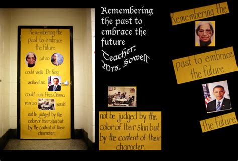 History Of Decorations by Black History Month Door Contest Welcome