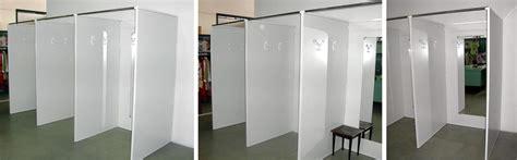 tende per camerini arredamento negozi fornitura camerini prova produzione