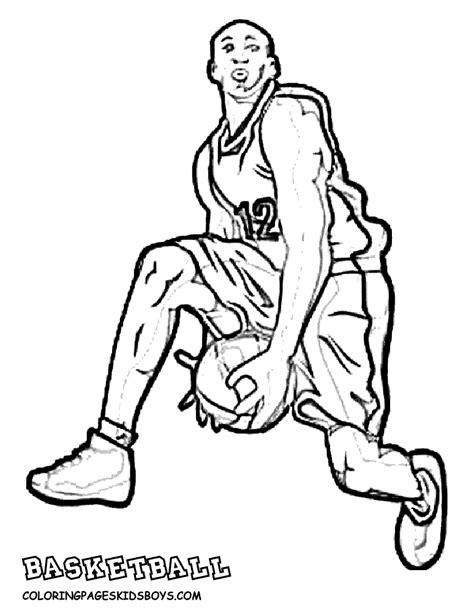 coloring pages nba basketball players big boss basketball coloring pictures basketball players