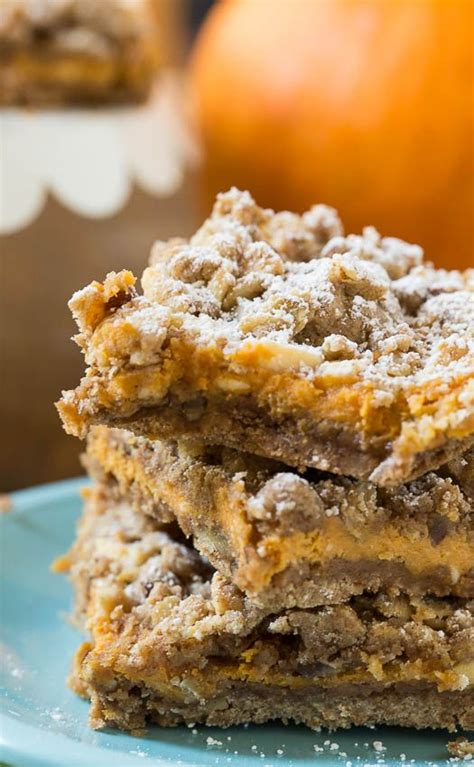 Pumpkin Bars With Streusel Topping by Pumpkin Spice Bars Recipe Streusel Topping Pumpkin
