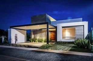 Diseno De Casa dise 241 o de casa moderna de un piso con tres dormitorios hermosa