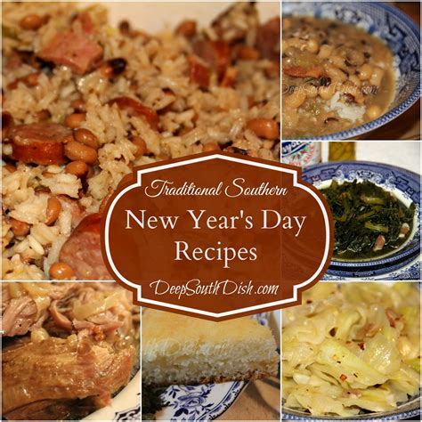 new year meal recipes south dish traditional southern new year s day recipes