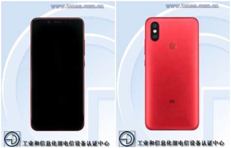 Hp Xiaomi Redmi A2 xiaomi mi 6x aka mi a2 specifications leaked again