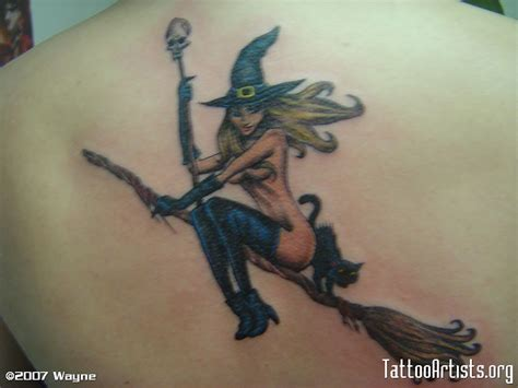 witchcraft tattoos witch images