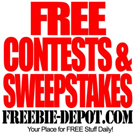 Free Sweepstakes Giveaway - free contests sweepstakes freebie depot