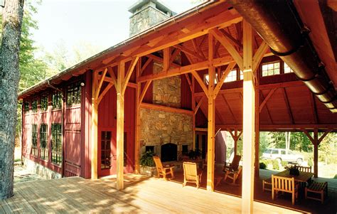 barn dog house plans big timberframe dogtrot platt architecture pa platt alternative building