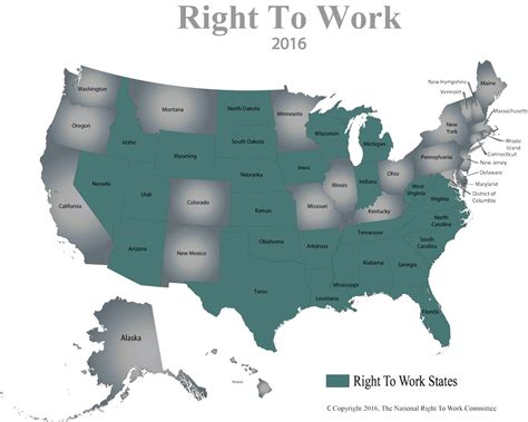 map to work meth mailings tax exemptions and the national right to work committee wade rathke chief