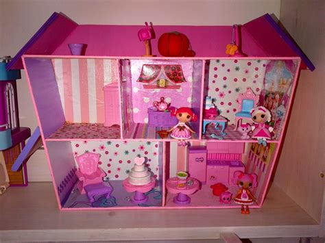 lalaloopsy house homemade lalaloopsy doll house lillian s pins pinterest