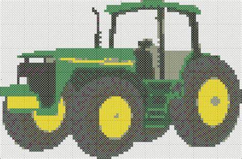 free tractor knitting pattern free tractor cross stitch pattern advanced cross stitch