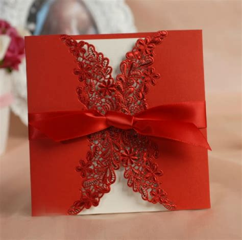 go lace wedding invitations 2014 trends part 1 - 2014 Wedding Invitations