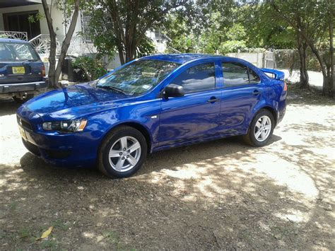 blue mitsubishi lancer for sale 2008 mitsubishi lancer octane blue