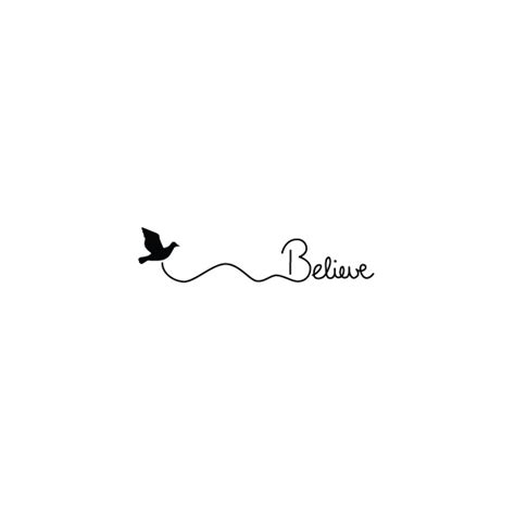 fly believe tattoo temporary tattoo tattify
