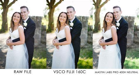 Three Lightroom Colour Presets For Wedding Photographers