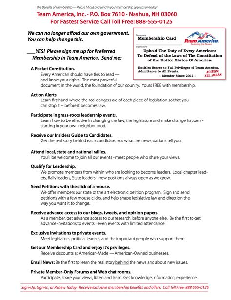 political fundraising letter page 4 outside back cover