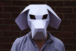 Paper Mask Template by Masks Colossal
