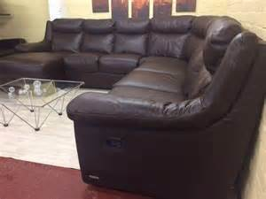 Brown Leather Corner Sofa Sale Archive Sofitalia Brown Leather Corner Sofa Suite Supreme For Sale Caledon Co Za
