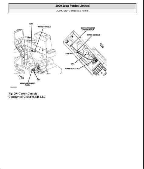 motor auto repair manual 2009 jeep patriot security system manual reparacion jeep compass patriot limited 2007 2009 electrical