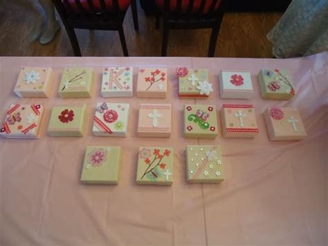 Baby Shower Arts And Crafts by Baby Shower Craft Idea Canvas Give Often