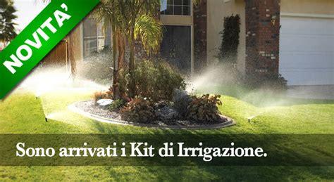 irrigazione giardini fai da te impianto di irrigazione giardino un kit fai da te